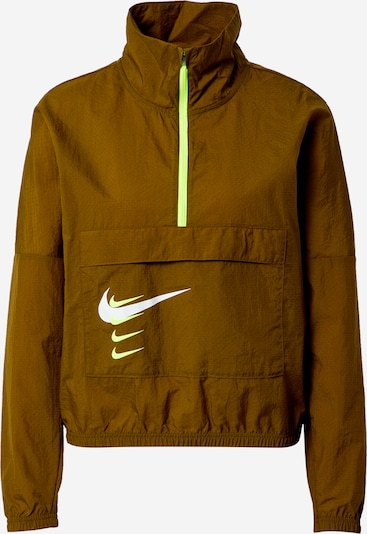NIKE Sports jacket 'Swoosh Run' in olive, Item view