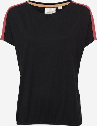 Tricou 'The 0909' Fli Papigu pe negru, Vizualizare produs