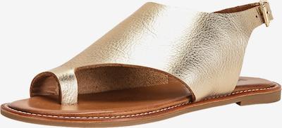 INUOVO Zehentrenner in gold, Produktansicht