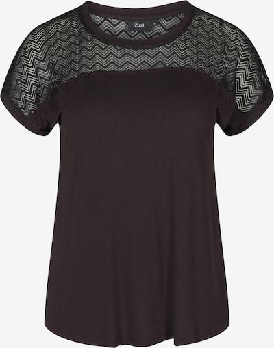Zizzi T-Shirt 'Eraina' in schwarz, Produktansicht