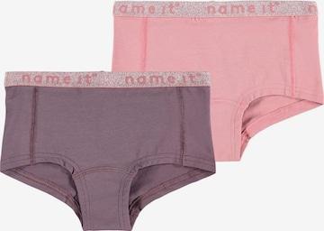 Sous-vêtements 'Nostalgia' NAME IT en violet