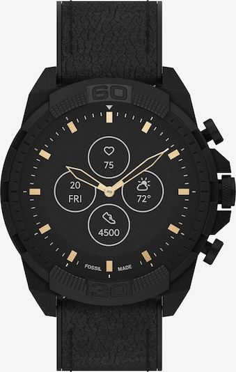 FOSSIL Digital Watch in Gold / Black, Item view