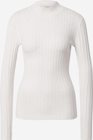 mbym Sweter 'Magen' w kolorze biały