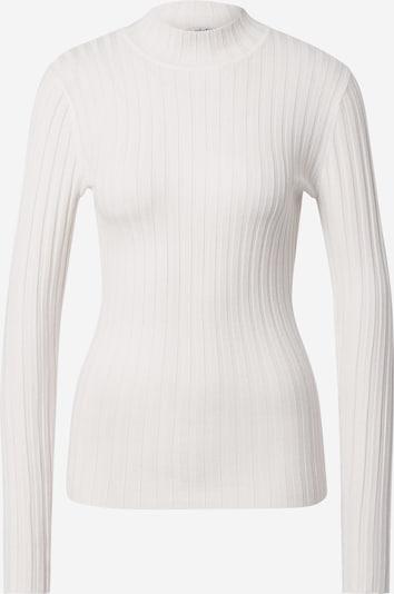 mbym Pullover 'Magen' in weiß, Produktansicht