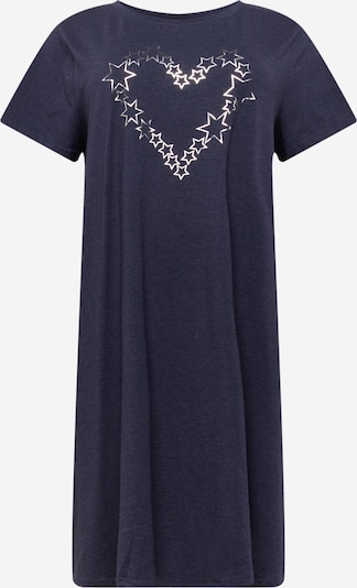 Zizzi Šaty 'MALBA' - tmavě modrá / stříbrná, Produkt