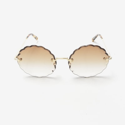 Chloé Sunglasses in One size in Gold, Item view