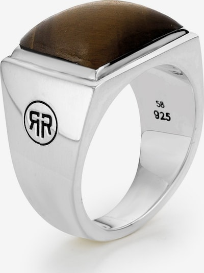 Rebel & Rose Ring in braun / silber, Produktansicht