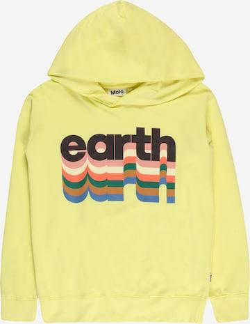 Molo Sweatshirt 'Madelyn' i gul