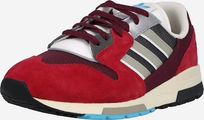 ADIDAS ORIGINALS Trampki niskie 'ZX 420' w kolorze trawa zielona / czerwony / czerwono fioletowy / czarny / białym, Podgląd produktu
