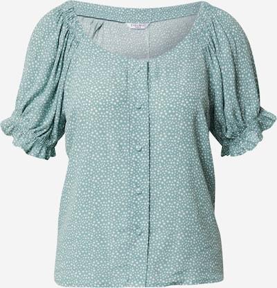 ZABAIONE Bluzka 'Rachel' w kolorze miętowy / białym, Podgląd produktu