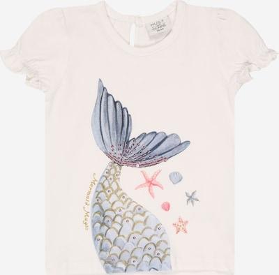 Hust & Claire Camiseta 'Ayla' en azul paloma / mostaza / rosa / blanco, Vista del producto