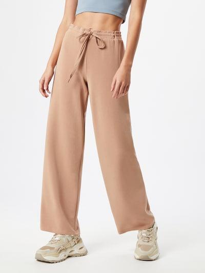 Pantaloni PIECES pe roz vechi, Vizualizare model