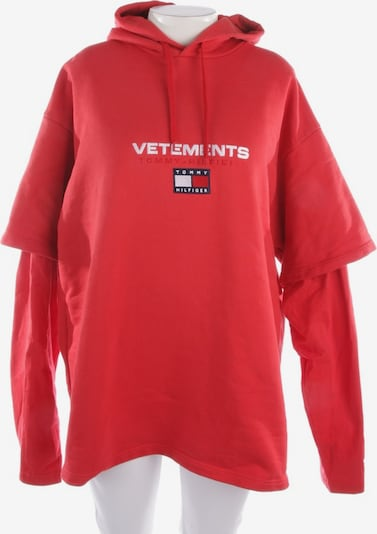 Vetements Sweatshirt in L in mischfarben / rot, Produktansicht