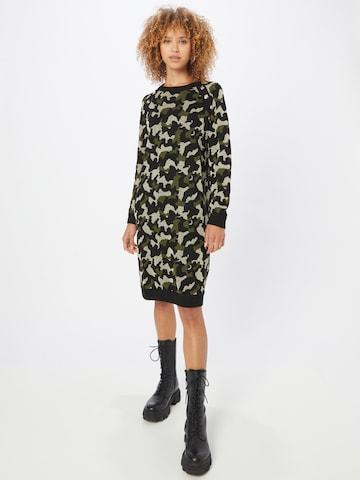 LIU JO JEANS Gebreide jurk 'ABITO MAGLIA' in Groen