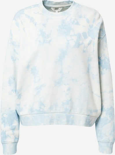 Lee Sweatshirt i ljusblå / vit, Produktvy