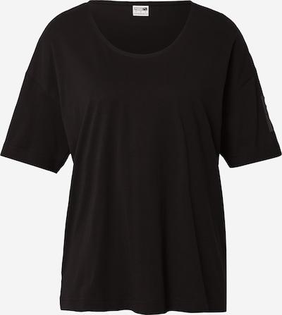 Tricou PUMA pe negru, Vizualizare produs