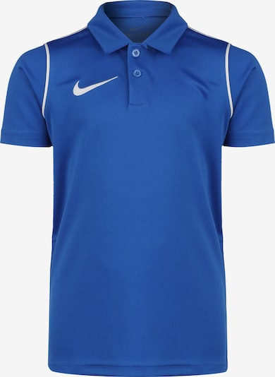 NIKE Poloshirt in blau / weiß, Produktansicht