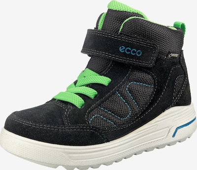 ECCO Winterboot 'Urban Snowboarder' in blau / neongrün / schwarz, Produktansicht
