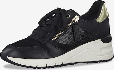 TAMARIS Låg sneaker i guld / svart, Produktvy