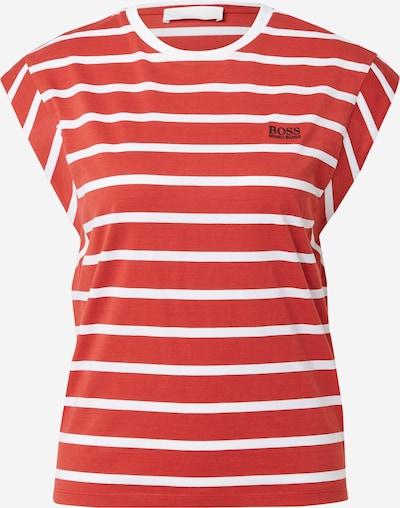 BOSS Casual Shirt 'Esa' in rot / weiß, Produktansicht