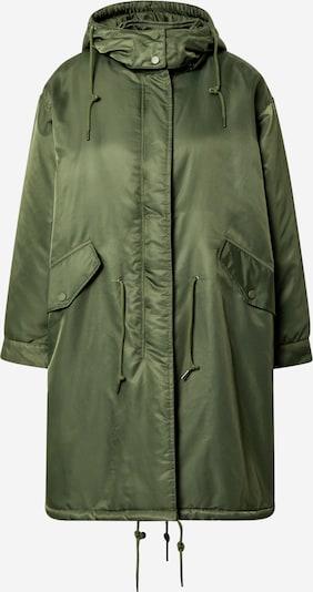 AMERICAN VINTAGE Manteau mi-saison en kaki, Vue avec produit