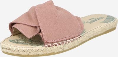 espadrij l´originale Pantolette 'Plage' in rosé, Produktansicht