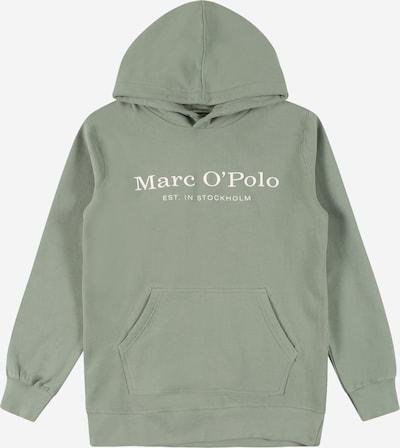 Marc O'Polo Junior Sweat en vert / blanc, Vue avec produit