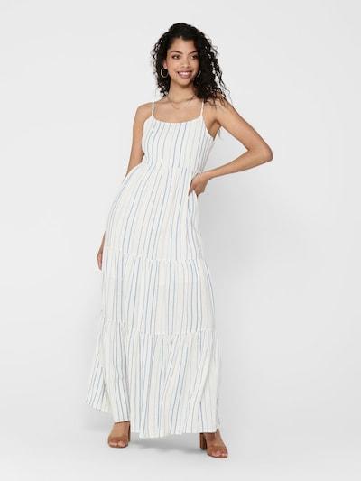 ONLY Kleid in blau / weiß, Modelansicht