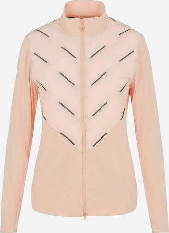 J.Lindeberg Athletic Jacket in Pink