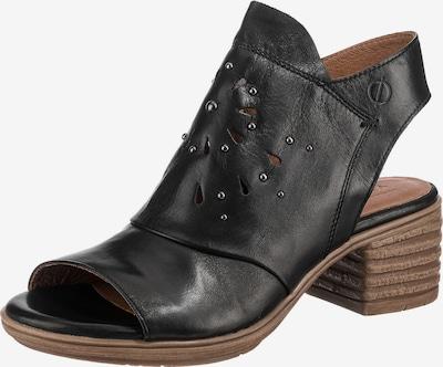 Paul Vesterbro Schaftsandaletten in schwarz, Produktansicht