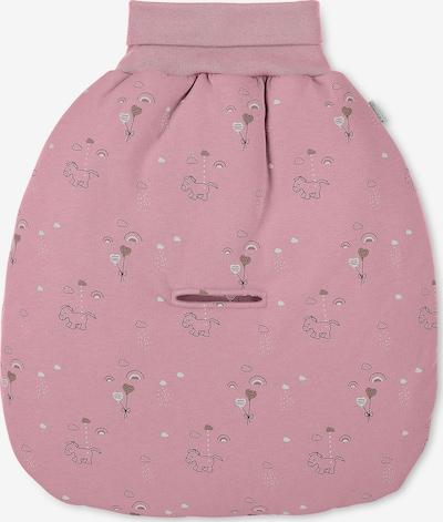 STERNTALER Strampelnest 'Pauline' in rosa / schwarz / weiß, Produktansicht