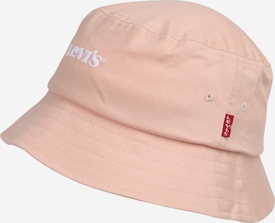 LEVI'S Hat in pastel pink / white, Item view
