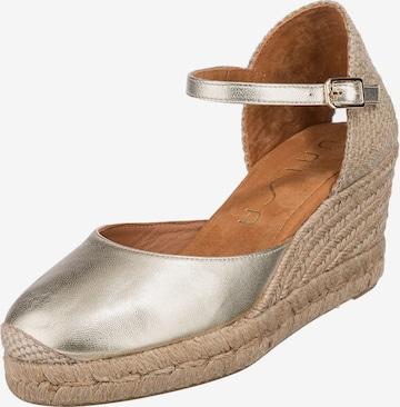 UNISA Sandale in Gold