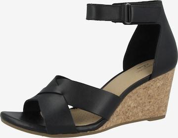 CLARKS Sandale 'Margee Gracie' in Schwarz
