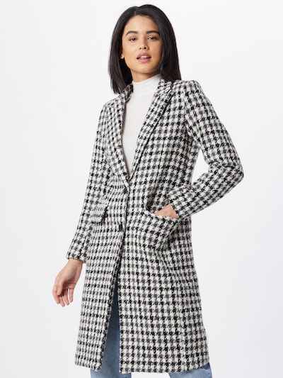 ZABAIONE Mantel 'Chiara' in schwarz / weiß, Modelansicht
