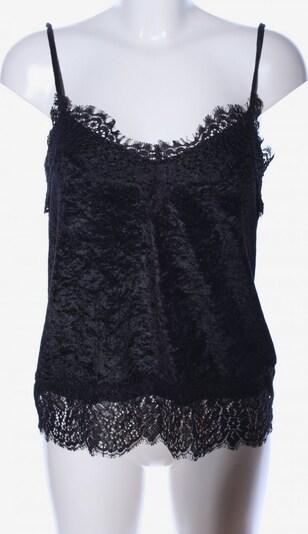 H&M Spitzentop in S in schwarz, Produktansicht