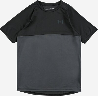 UNDER ARMOUR Sportshirt in grau / schwarz, Produktansicht