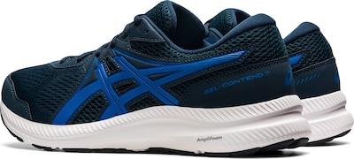 ASICS Laufschuh in blau / neonblau / dunkelblau / weiß, Produktansicht