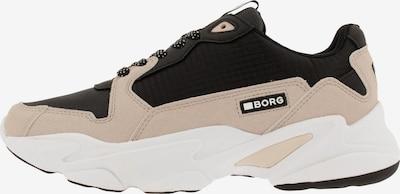 BJÖRN BORG Sneaker 'X400 BLK' in beige / schwarz, Produktansicht
