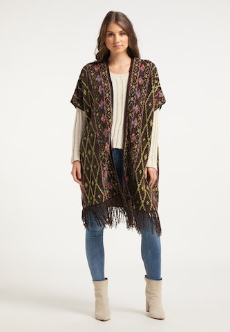 IZIA Knit Cardigan in Brown