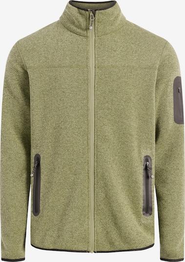 Sea Ranch Fleece jas in de kleur Groen, Productweergave