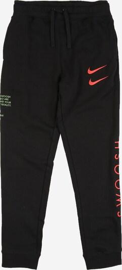 Nike Sportswear Hose in pastellgrün / lachs / schwarz, Produktansicht