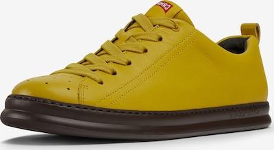 CAMPER Baskets basses ' Runner Four ' en jaune / rouge / blanc, Vue avec produit