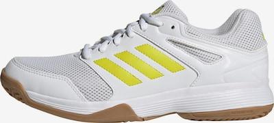 ADIDAS PERFORMANCE Handballschuh 'Speedcourt' in zitrone / weiß, Produktansicht