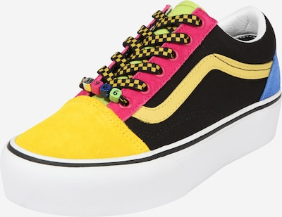 VANS Sneaker low 'Old Skool' i gul / pink / sort, Produktvisning