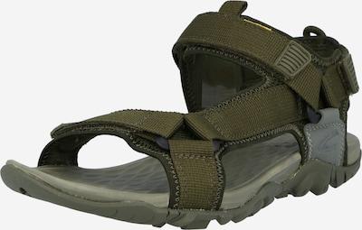 CAMEL ACTIVE Trekinga sandales olīvzaļš, Preces skats