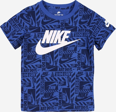 Nike Sportswear Shirt in royalblau / weiß, Produktansicht
