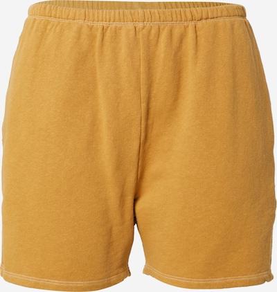 AMERICAN VINTAGE Pantalon 'Ekowood' en curry, Vue avec produit