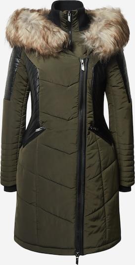 ONLY Prechodný kabát - kaki / čierna, Produkt