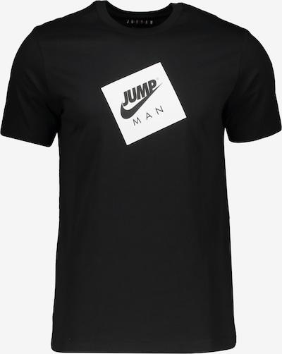 Jordan T-Shirt in schwarz / weiß, Produktansicht